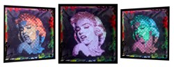 Marilyn by Dan Pearce - Mixed Media Lenticular Lightbox sized 30x30 inches. Available from Whitewall Galleries